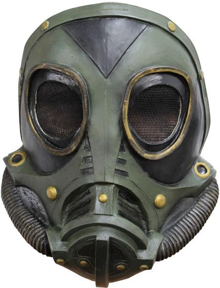 M3A1 Gas Mask Green Latex Zombie Apocalypse Costume Accessory New