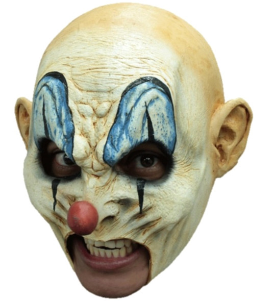 Krumpy With Teeth Latex Mask Killer Clown Open Mouth Prosthetic Adult Halloween