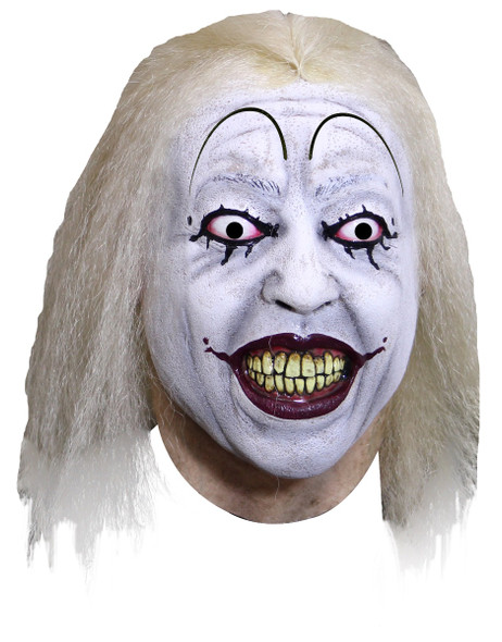 Clowntown Baseball Clown Adult Latex Mask Evil Psycho Killer Klown Halloween