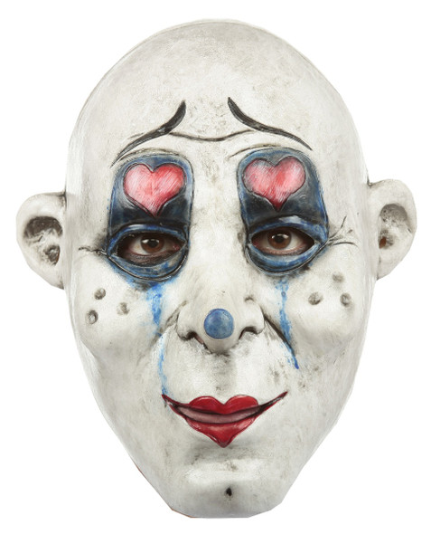 Ghoulish Productions Clown Gang G.G. Adult Latex Mask Creepy Killer Halloween