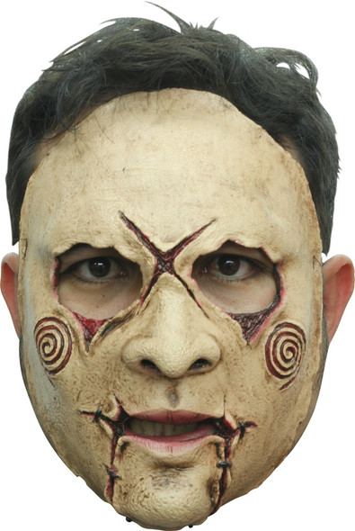 Ghoulish Productions Serial Killer 20 Front Face Latex Mask Adult Halloween New
