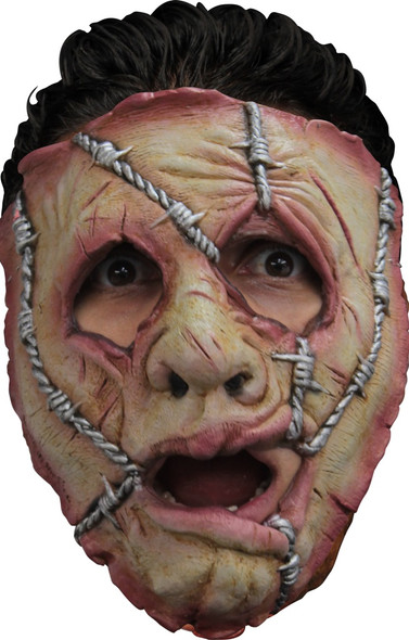 Ghoulish Productions Serial Killer 32 Barb Wire Face Latex Mask Adult Halloween