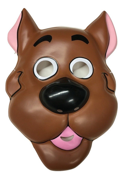 Scooby Doo PVC Plastic Half Mask Child Costume Accessory Licensed Great Dane Dog