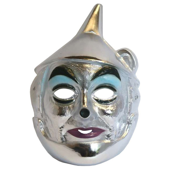 The Wizard Of Oz Tin Man PVC Mask Licensed Child's Halloween Costume Accessory