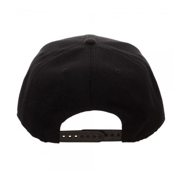 Blizzard Overwatch Snapback Video Game Black Baseball Hat Adjustable Cap Adult