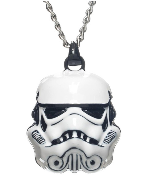 Star Wars Stormtrooper Storm Trooper 3D Metal Necklace Jewelry White Helmet