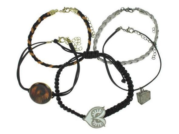 Fantastic Beast Arm Party Bracelet Set Costume Jewelry 5 Piece MACUSA Briefcase
