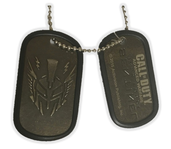 Call of Duty Advanced Warfare Sentinel Dog Tags Necklace Costume Jewelry
