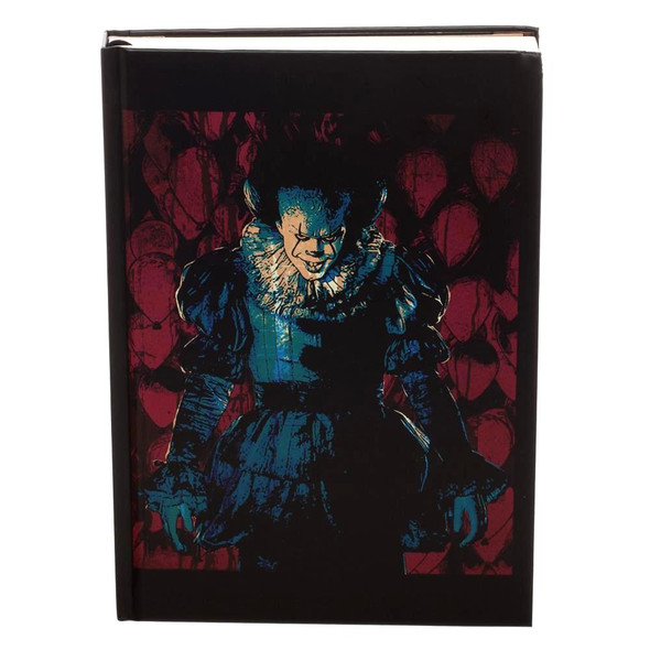 Bioworld IT Pennywise Clown Journal Takes Many Forms Log Book Diary Daybook