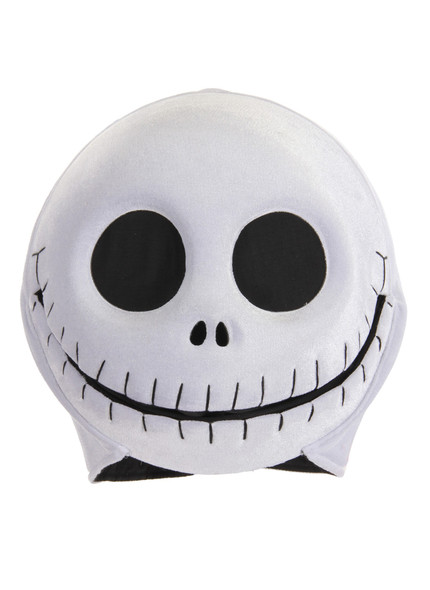 Jack Skellington Plush Mouth Mover Mask