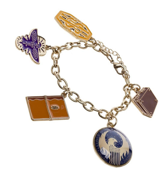 Officially Licensed Fantastic Beast Charm Bracelet Costume Jewelry
