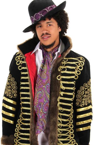 Jimi Hendrix Lightweight Paisley Scarf