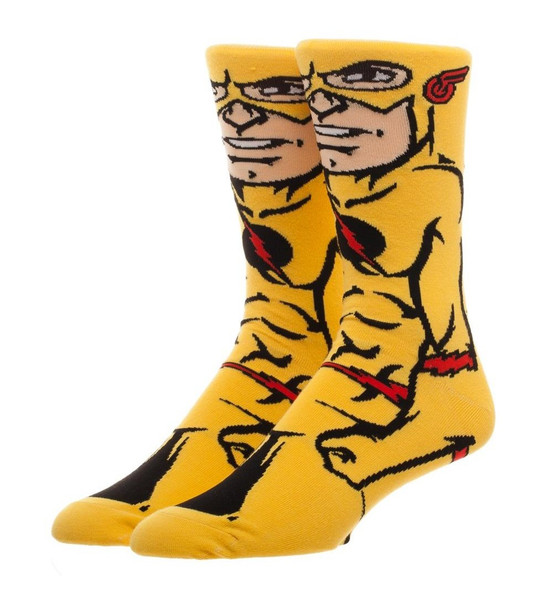 DC Comics The Flash 360 Crew Socks Character Collection Package Adult Mens OS