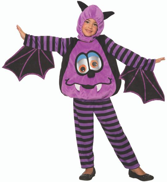 Wiggle-Eye Halloween Flying Bat Costume Child Toddler Funny Wiggly Moving Eyes