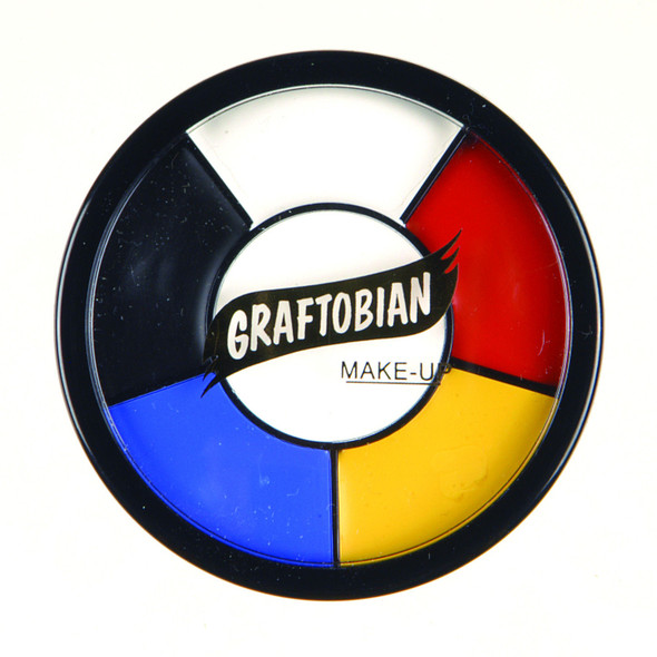 Graftobian Pro F/X Collection Primary Grease Wheel Latex Appliances Skin Makeup