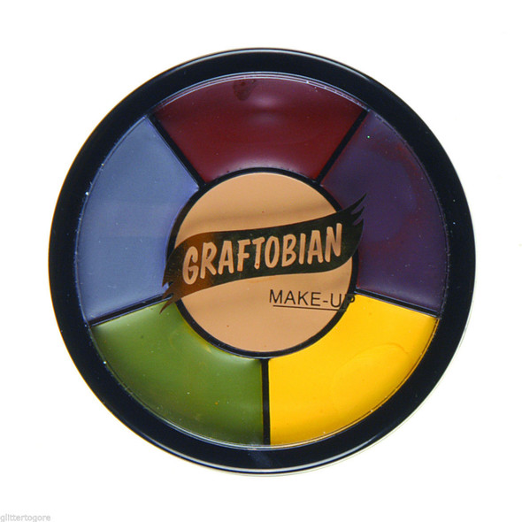 Graftobian Pro F/X Collection Severe Trauma Grease Wheel Latex Appliances Makeup