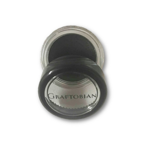 Graftobian Professional Black Creme Cream Foundation 1/8 oz Theatrical Makeup