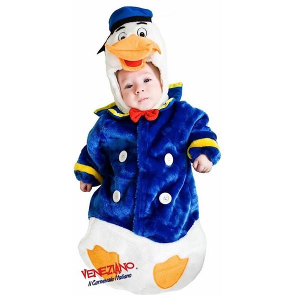Deluxe Baby Duck Costume Toddler Child Donald Bird Quack Quack Sz 18-24 Months