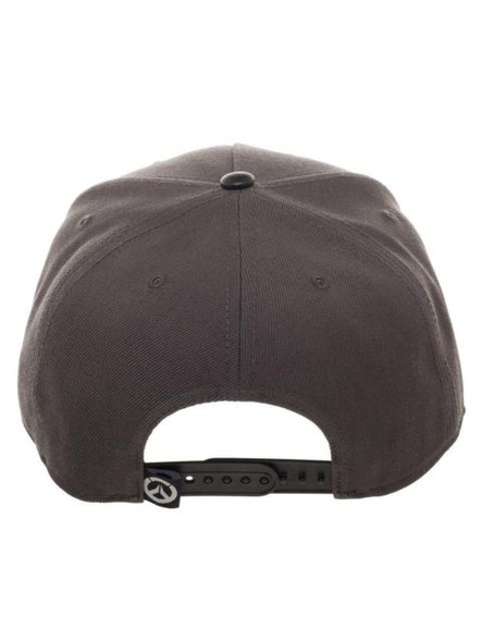 Blizzard Overwatch Snapback Video Game Grey Baseball Hat Adjustable Cap Adult