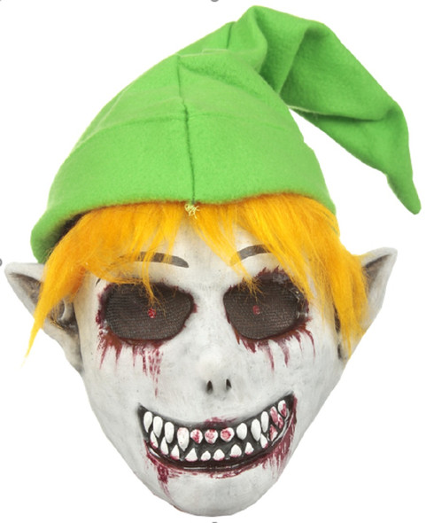 Creepypasta Ben Drowned Lawman Majora Urban Legend Adult Latex Front Face Mask