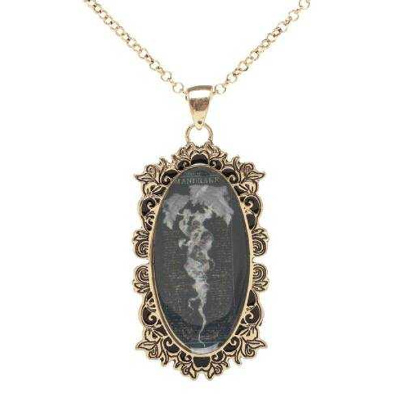 Harry Potter Mandrake Pendant and Necklace Costume Jewelry