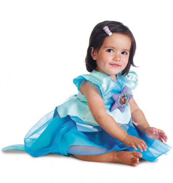 Disney Little Mermaid Ariel Princess Costume Dress Girls Infant 12-18 Months
