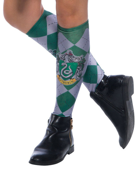 Rubie's Harry Potter Hogwarts House Slytherin Green Socks Womens One Size
