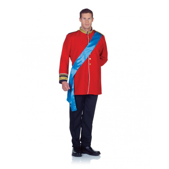 Heir Prince Charming Costume Adult Men Medieval Fairy Tale King Halloween Std