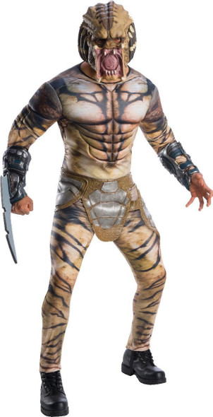 Deluxe The Predator 2018 Costume Padded Jumpsuit Mask Adult Mens Std- XL