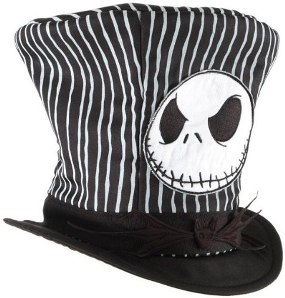 Disney Nightmare Before Christmas Jack Plush Top Hat