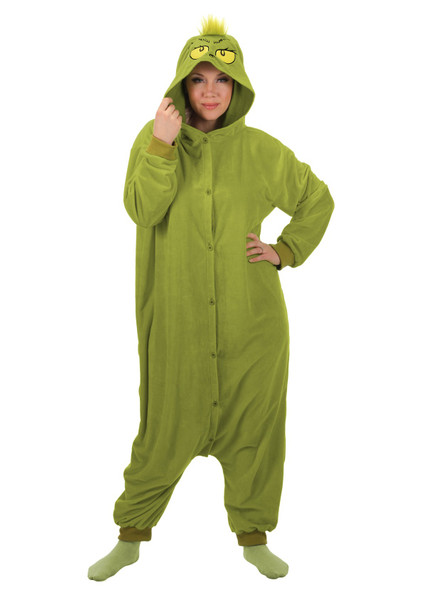Dr. Seuss The Grinch Kigurumi Adult One Size