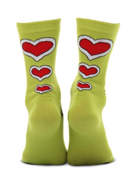 The Grinch Costume Crew Socks