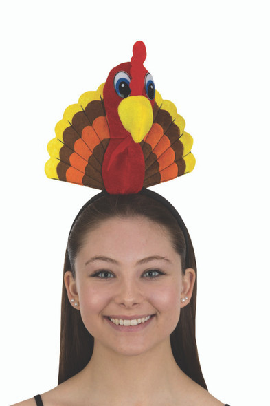 Thanksgiving Turkey Bird Headband Gobbler Adult Children Costume Accessory