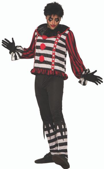 Mystery Circus Mr. Mayhem The Clown Men's Adult Costume Dark Ringmaster Std
