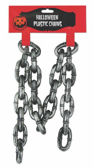 """30"""" Dungeon Prisoner Chains Plastic Halloween Haunted House Accessory Prop"""