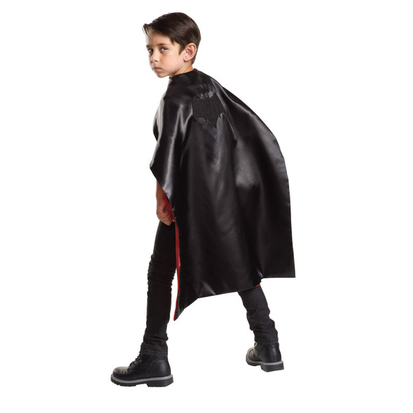 DC Comics Reversible Cape Batman vs Superman Boys Girls Costume Accessory OS
