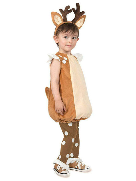 Debbie The Deer Adorable Fawn Doe Toddler Cute Animal Soft Costume 12mths-2T
