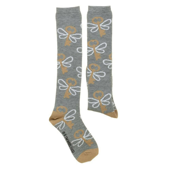 Harry Potter Key Toss Knee High Socks Wizard Lurex Adult Children Sock Sz 9-11