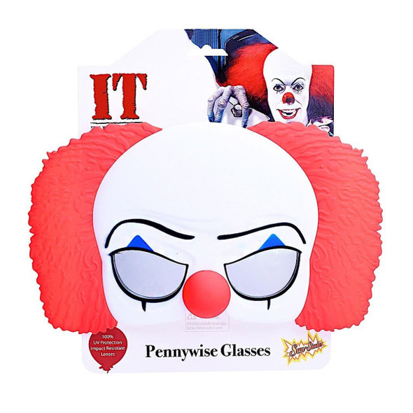 Sun-Staches It Pennywise Movie Character Shades Sunglasses Killer Clown