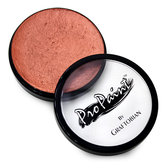 Graftobian ProPaint Professional Face Body Paint Pro Makeup Metallic Copper 1oz
