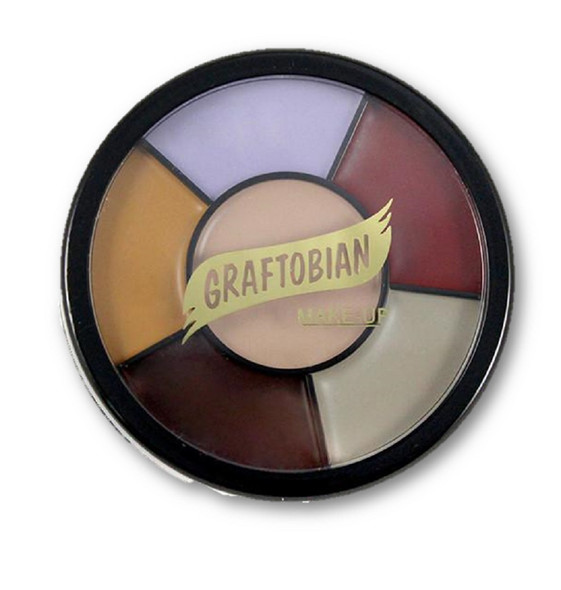 Graftobian Pro F/X Collection Trauma Zombie Grease Wheel Latex Appliances Makeup