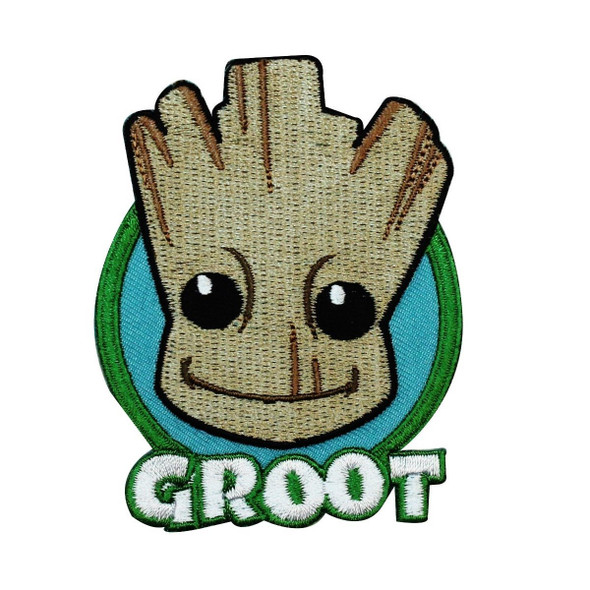 Marvel Comics Guardians of the Galaxy Patch Groot Superhero Iron On Applique