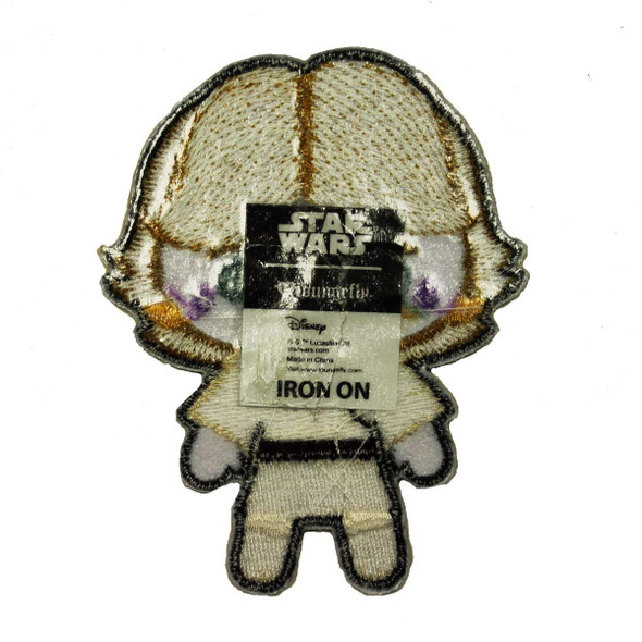 Star Wars The Phantom Menace Luke Skywalker Emoji Logo Iron on Patch Licensed