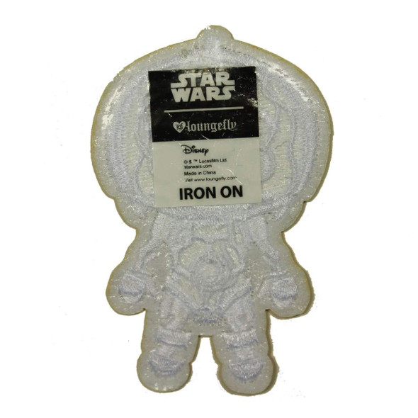 Star Wars C-3PO No Armor Patch Droid Emoji Chibi Embroidered Iron On Applique