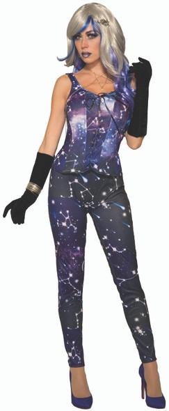 Celestial Galaxy Adult Leggings Halloween Costume Accessory Women's Stars & Moon