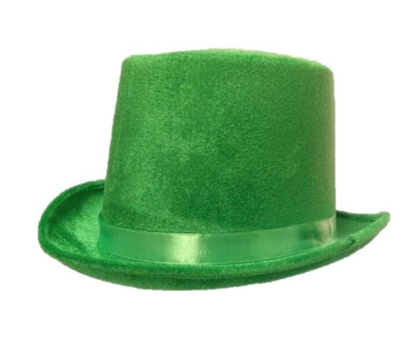 Green Adult Top Hat Halloween Leprechaun St. Patrick's Day Costume Accessory New