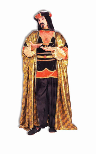 Royal Sheik Arab Costume Pantaloons Headpiece l-xl Christmas Wisemen Sultan Men