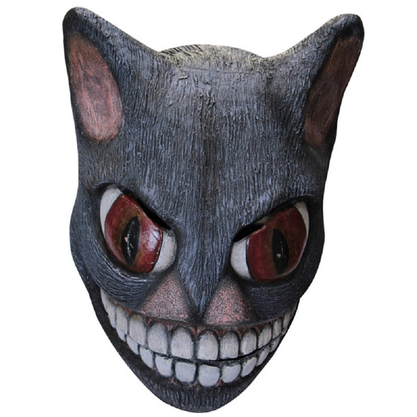 Grinny Cat CREEPYPASTA Adult Latex Mask Pastamonsters Smiling Cat Scary Animal