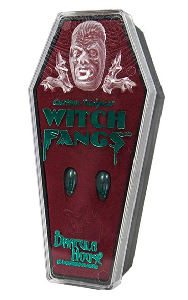 Foothills Creation Custom Green Witch Fangs Ghouls Aliens Adult Halloween