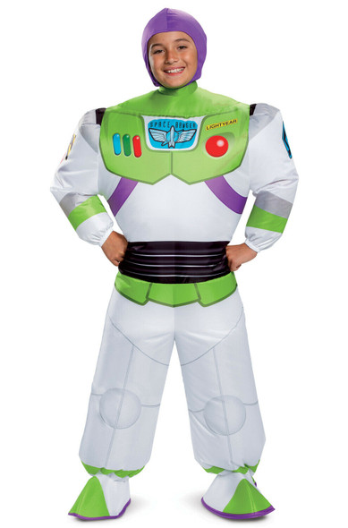 Disney Toy Story 4 Buzz Lightyear Inflatable Child Costume Licensed Unisex OS
